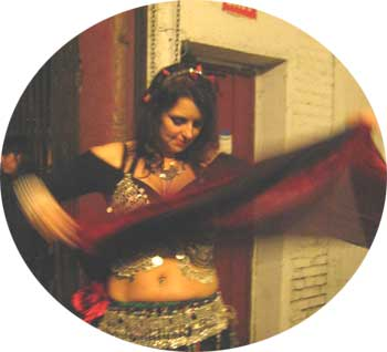 Denell Dilley, Belly Love Dance at Dilley's Dance Studio  Encinitas, CA