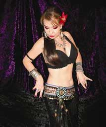 Diana, Tribal Belly Dancer in Orange County, California