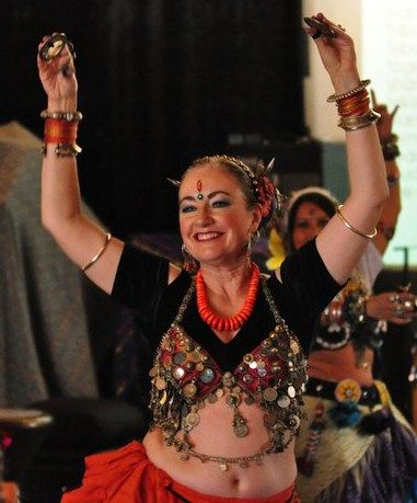 Sunroom Belly Dance, Nancy Young, Claremont, CA