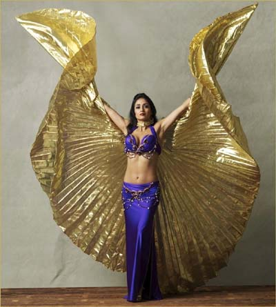 Rosalba, bellydancer in Los Angeles, California