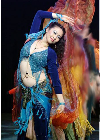 Belly Dance Instructor and Performer, Shirin, Beverly Hills, CA