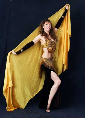 Vilia, Teacher and Bellydancer in San Diego, CA